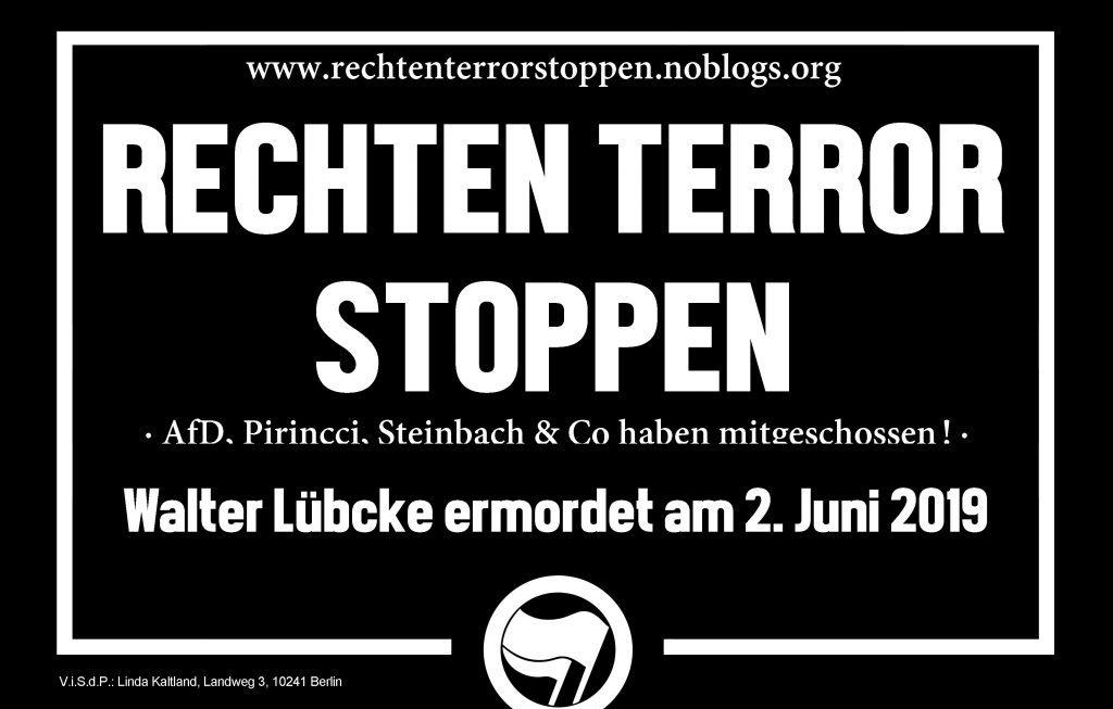Jahrestag des Mordes an Walter Lübcke – Betroffene rechter Anfeindungen und Gewalt besser schützen