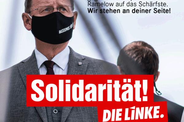 Solidarität mit Bodo Ramelow